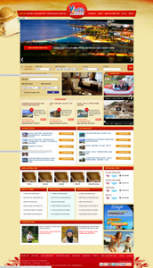 Thiết kế website Du lịch VietLife