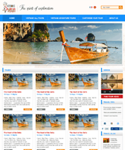 Thiết kế website Website du lịch winsome Travel