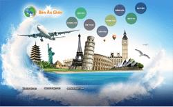 Thiết kế website Du lịch châu âu