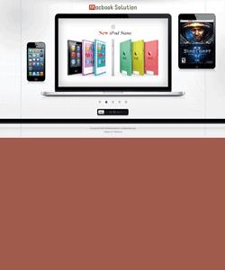 Thiết kế website Kinh Doanh Macbook
