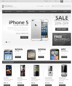 Thiết kế website Kinh doanh thiết bị di động
