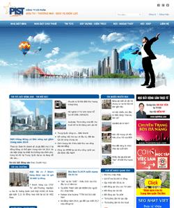 Thiết kế website Kinh doanh bất động sản điện lực