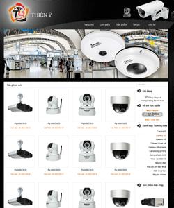 Thiết kế website Bán camera Thiên Ý