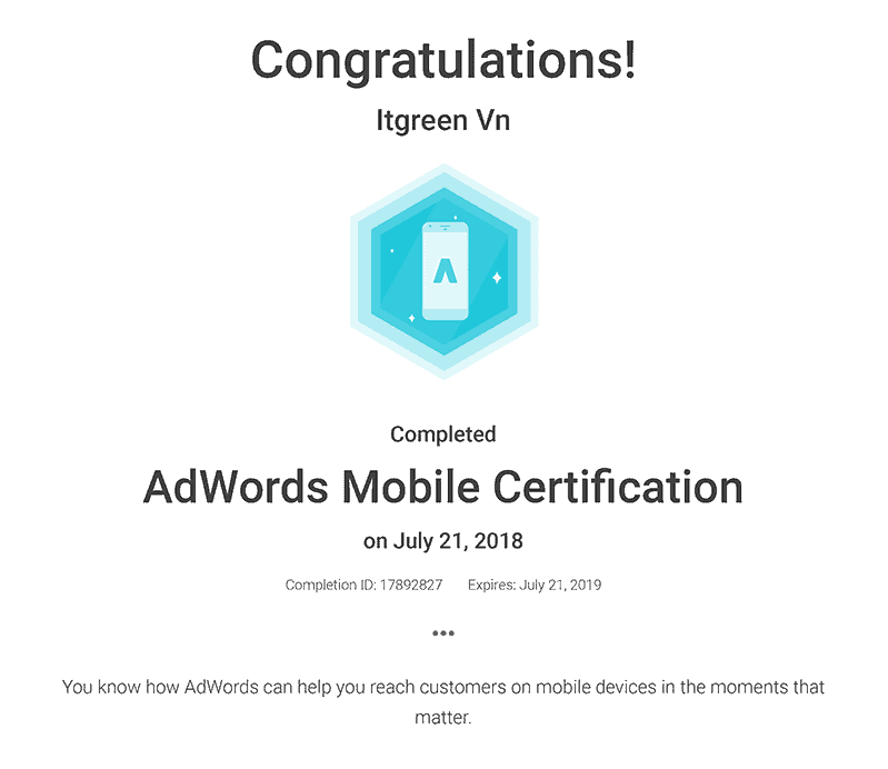 AdWords-Mobile-Certification_-Academy-for-Ads | ITGREEN