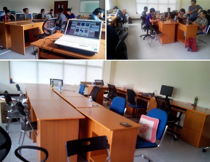 Thông báo về việc chuyển phòng dự án lên khu công nghiệp phần mềm Quang Trung