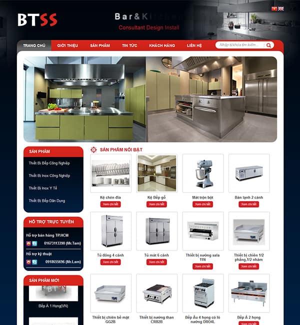 Thiết kế website BTSS