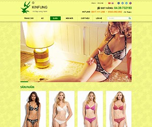 Thiết kế website Kinfung