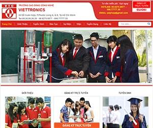 Thiết kế website Viettronic