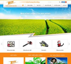 Thiết kế website Thiên Hoàng Nguyên