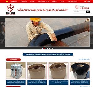 Thiết kế website Bọc Ống Minh Phúc