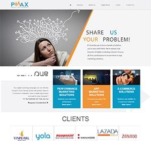 Thiết kế website PMAX
