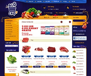 Thiết kế website Alo Chợ