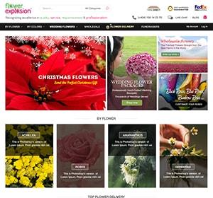 Thiết kế website Website bán hoa tươi