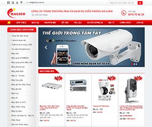Thiết kế website Viễn Thông Hà Linh