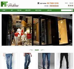 Thiết kế website Thời trang Hà Trung