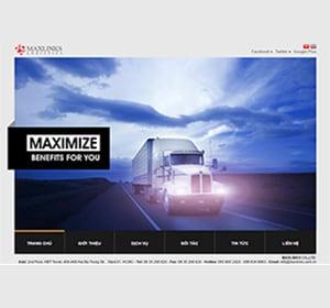 Thiết kế website Maxlink
