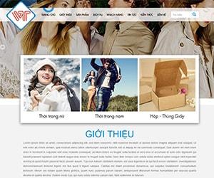 Thiết kế website May thêu Vĩnh Tài