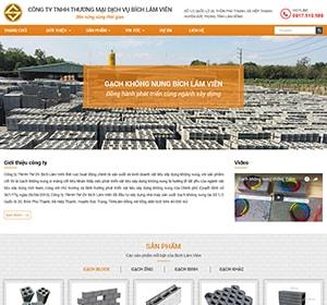 Gạch block , nhà máy gạch Bích Lâm Viên