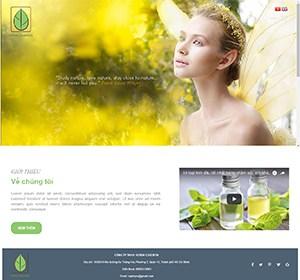 Thiết kế website Tin dầu Herba