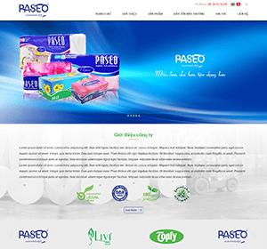 Thiết kế website Nghề giấy,  công ty giấy