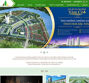 Thiết kế website Bất động sản hồ chí minh