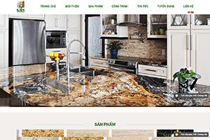 Thiết kế website Website bán gạch, website đá hoa cương