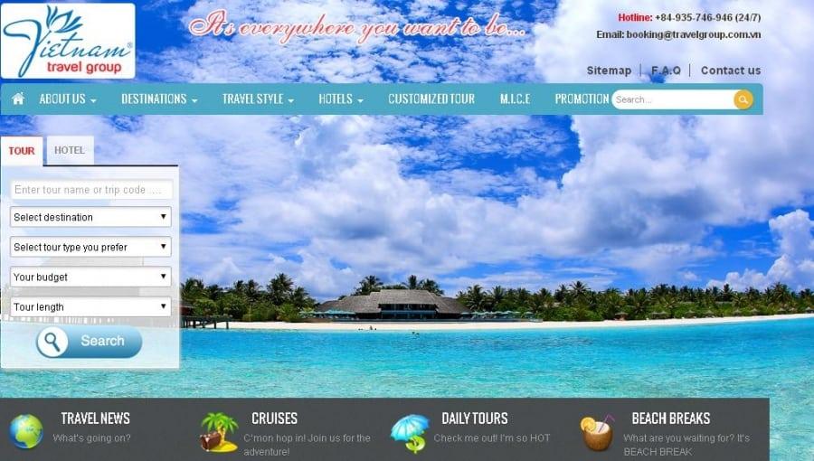 Những xu hướng thiết kế website du lịch thịnh hành nhất hiện nay