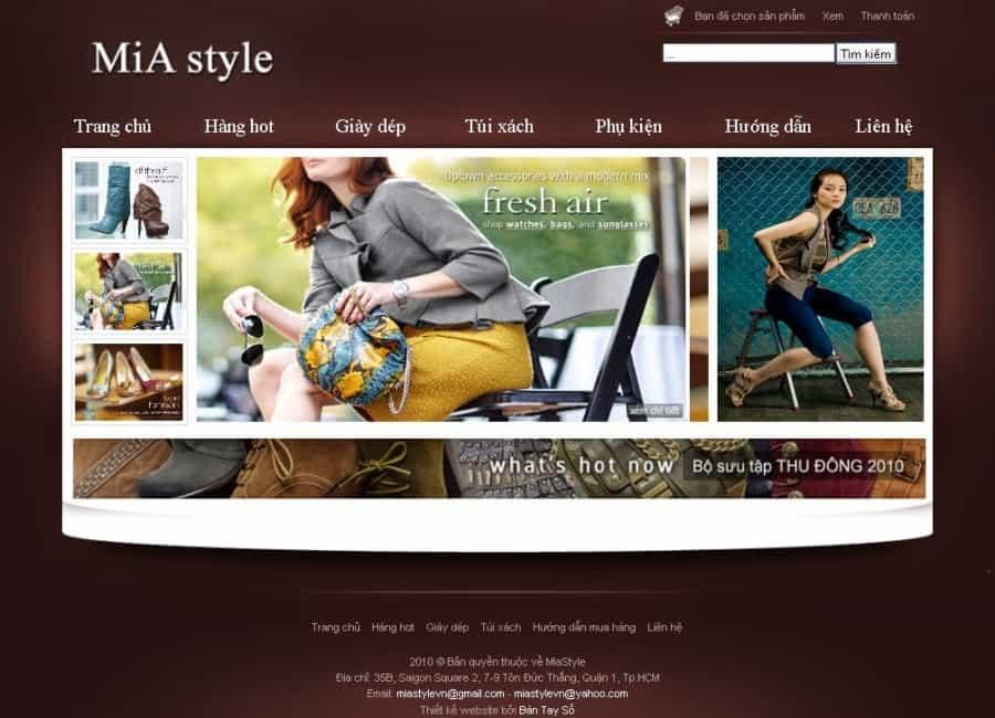 Cách thiết kế một website bán giày đỉnh dành cho bạn