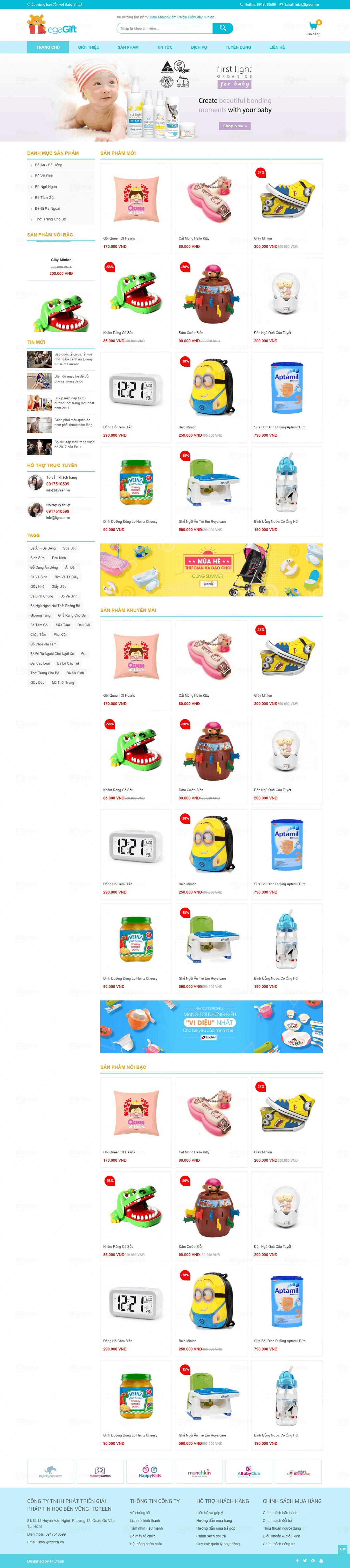 Thiết kế website Thiết kế website sản phẩm 00046