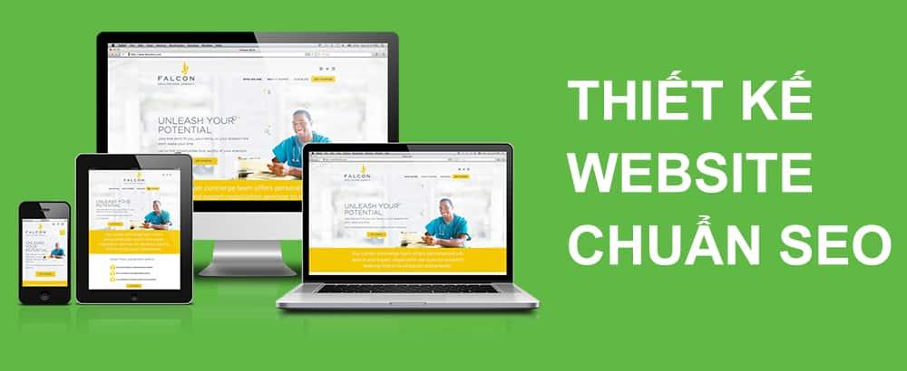 Thiết kế webiste chuẩn seo