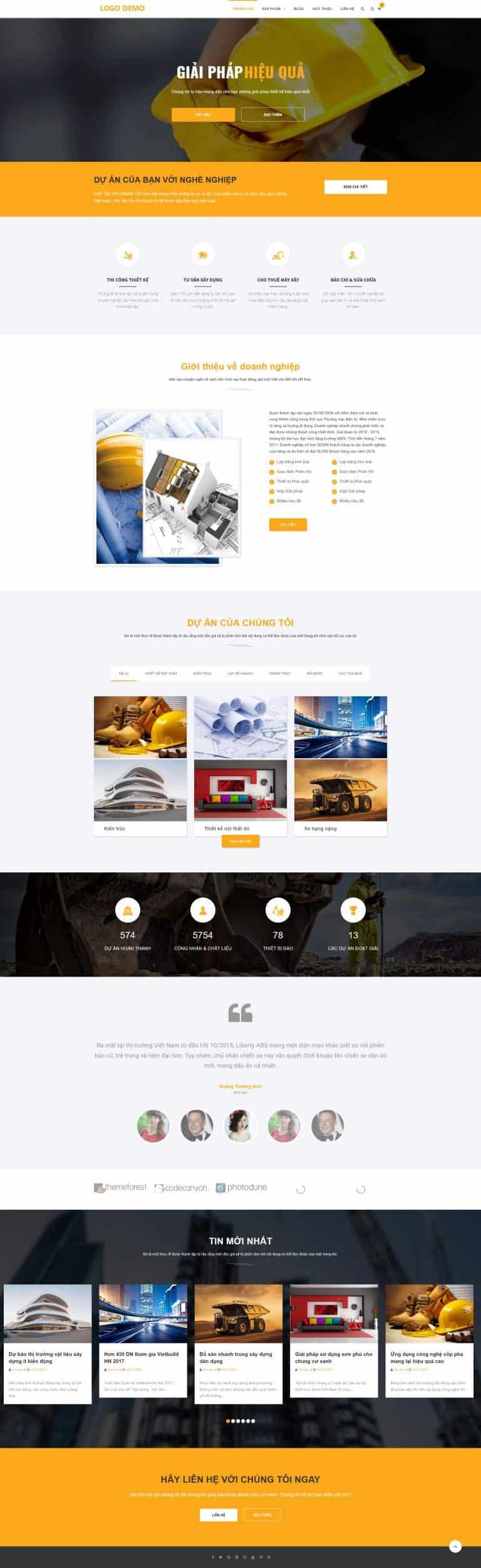 Thiết kế website Shop thiết bị dân dụng