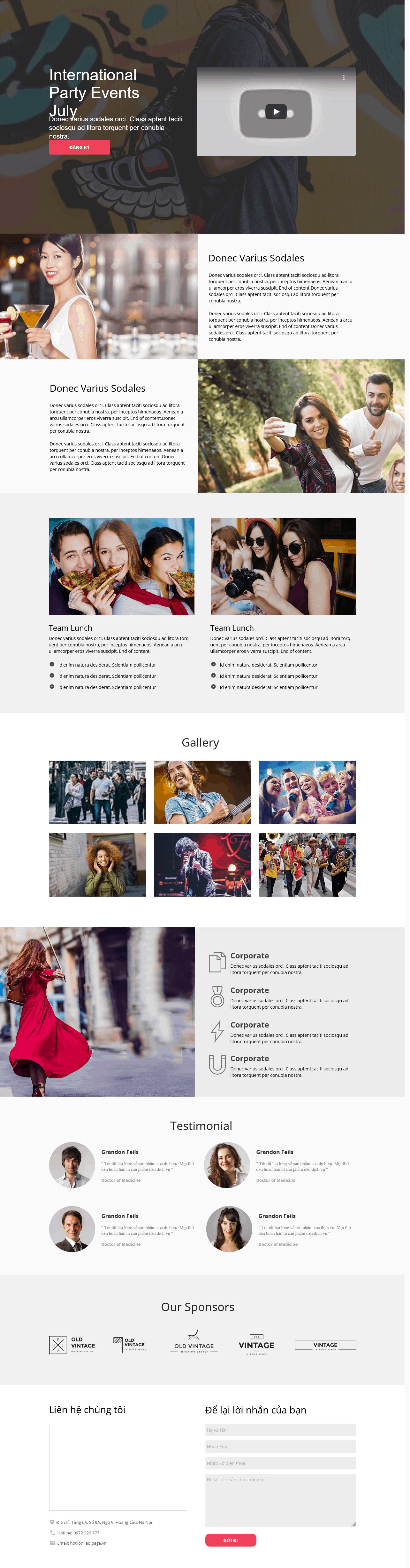 Thiết kế website Thiết kế webiste landingpage dien-anh---truyen-hinh Giải trí 07