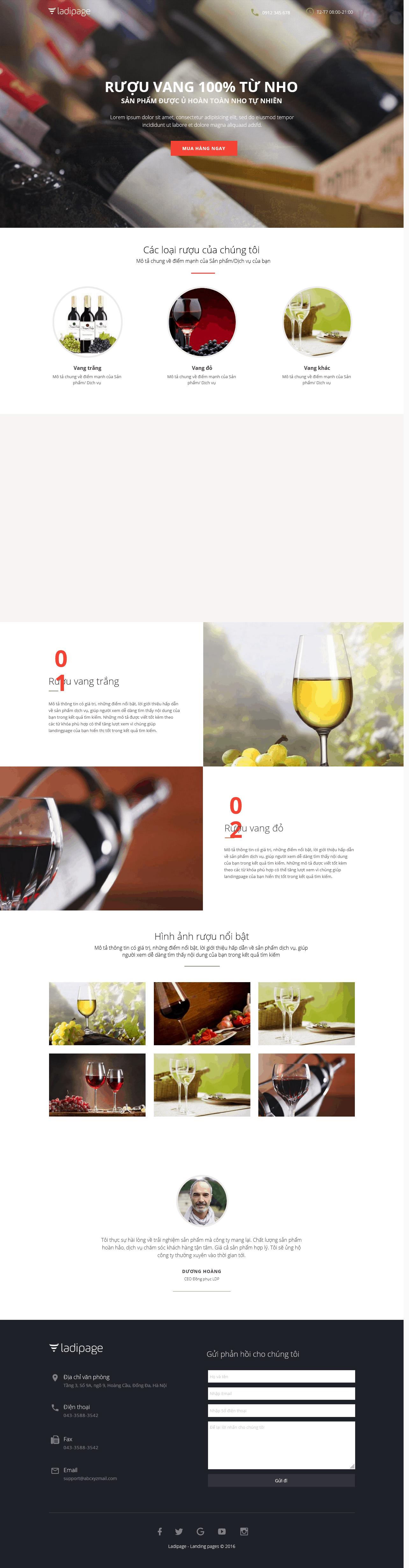 Thiết kế website Thiết kế webiste landingpage gioi-thieu-thuong-hieu---cong-ty Shop bán hàng 02