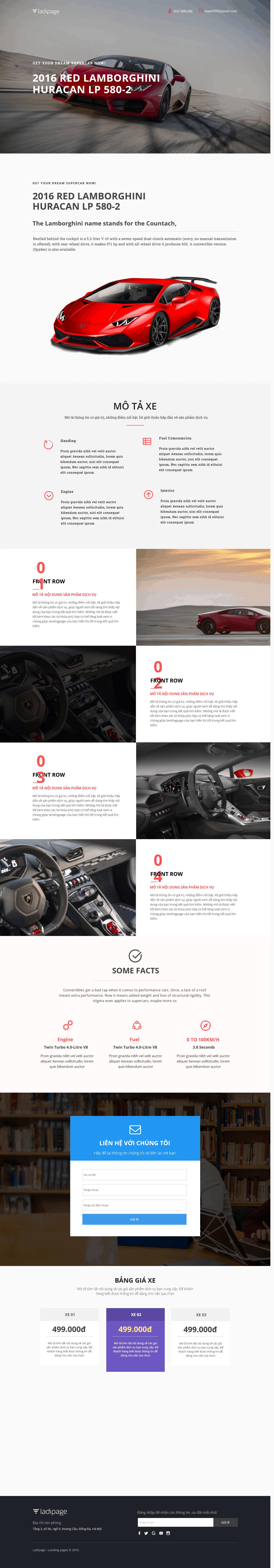 Thiết kế website Thiết kế webiste landingpage o-to---xe-may Ô tô 1
