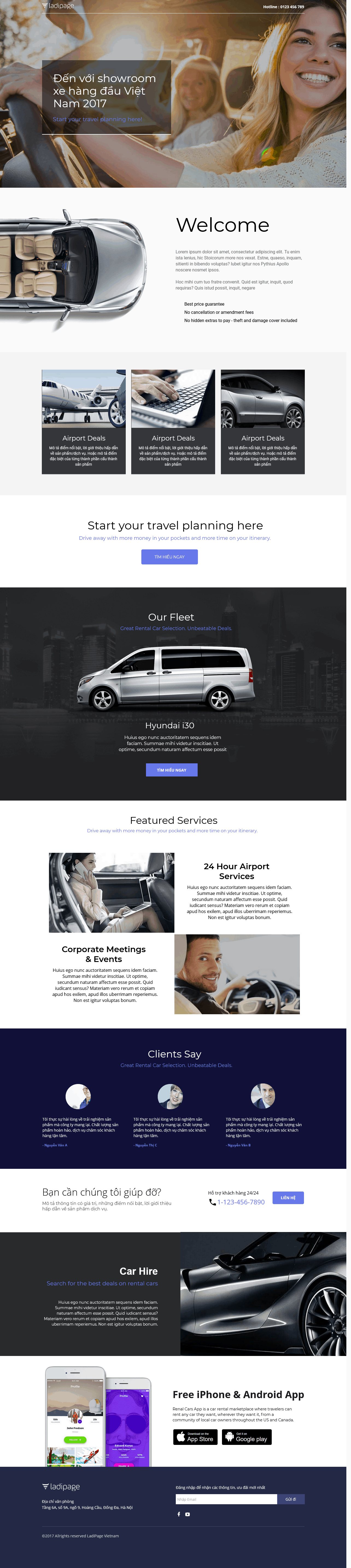 Thiết kế website Thiết kế webiste landingpage o-to---xe-may Ô tô & Xe máy 03