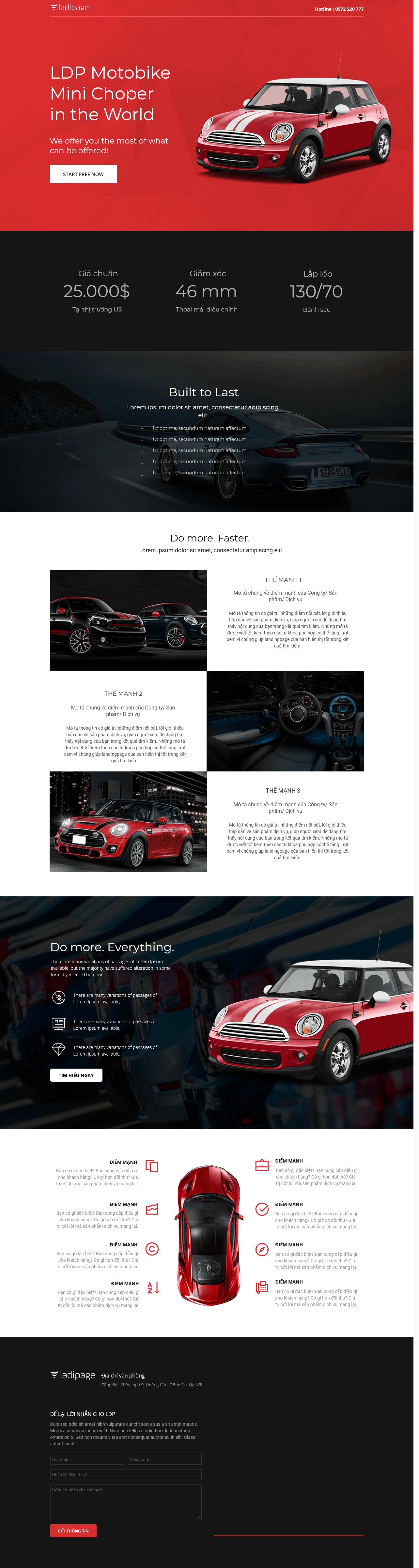 Thiết kế website Thiết kế webiste landingpage o-to---xe-may Ô tô & Xe máy 04