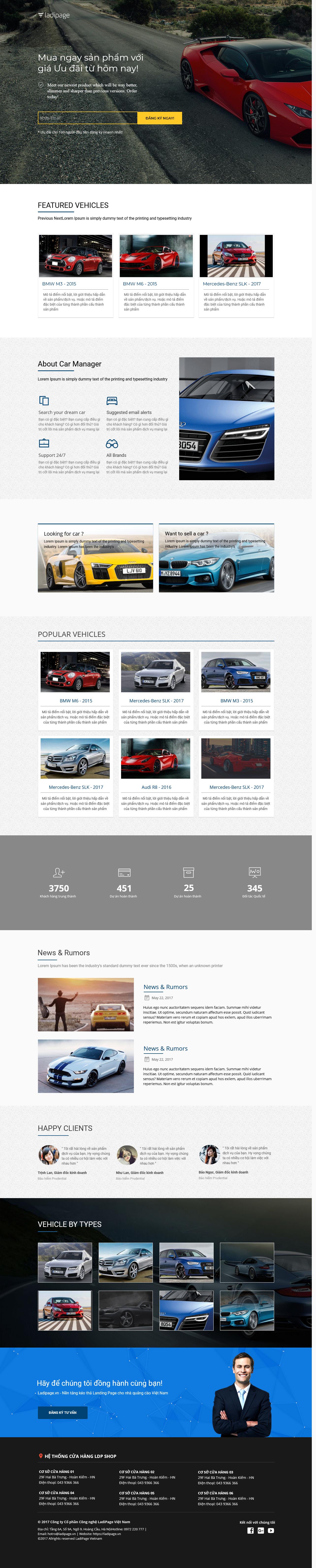 Thiết kế website Thiết kế webiste landingpage o-to---xe-may Ô tô & Xe máy 07
